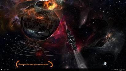 Stargate Sg2 Deskscapes Desktop Object Galaxy Space