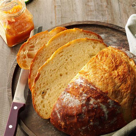 crusty homemade bread recipe taste  home
