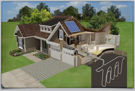 bi level floor plans with attached garage small energy efficient home designs house design house