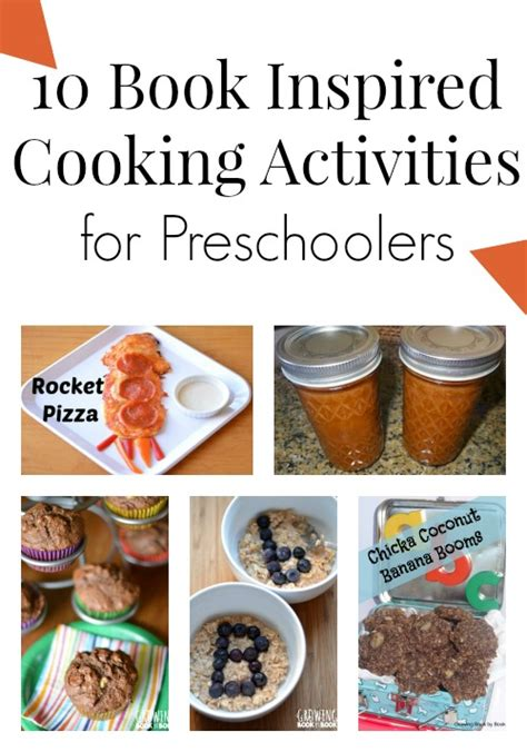 10 book inspired cooking activities for preschoolers 442 | Book Inspired Cooking Activities for Preschoolers