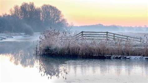 anglia weather cold  cloudy  occasional wintry