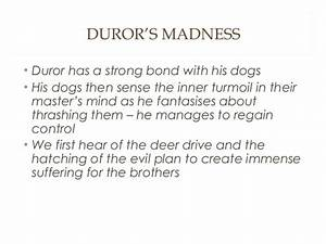 Cone Gatherers ... Duror Quotes