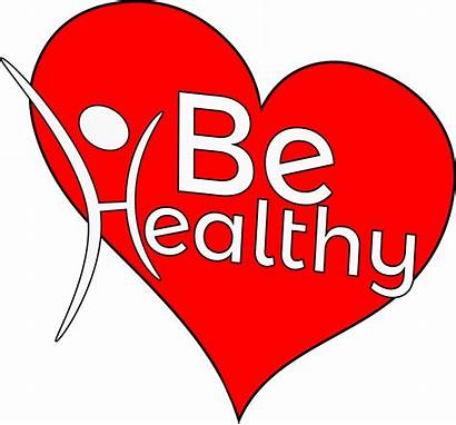 Health Clipart Heart Healthy Background Transparent Banner