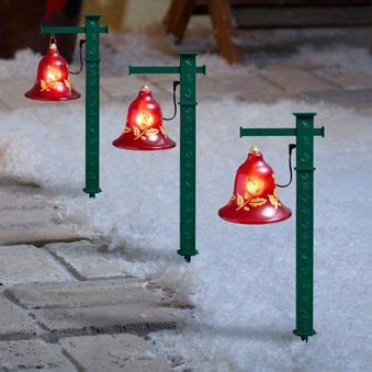 lot    christmas lighted musical pathway bells lawn