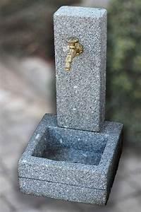 Wasserhahn Für Garten : steinbrunnen n rnberg aus granit f r den garten ~ Watch28wear.com Haus und Dekorationen