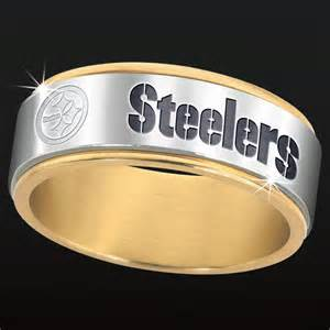 pittsburgh steelers spinner ring the danbury mint