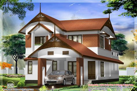 Awesome Kerala Style Home Architecture  Kerala Home