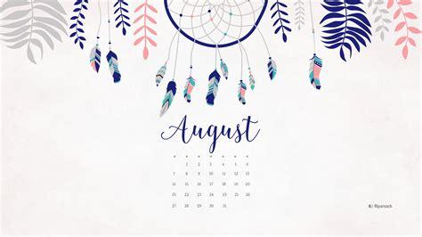 august   calendar desktop wallpaper