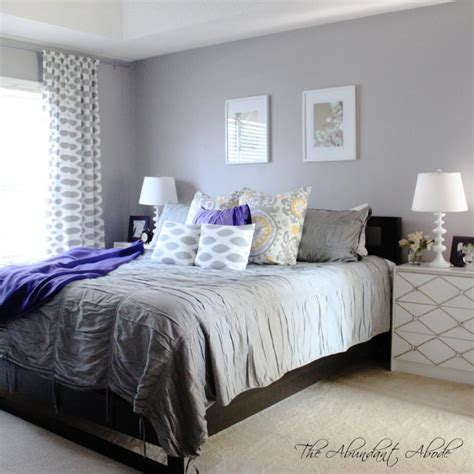 bedroom foxy white and grey bedroom design and decorating