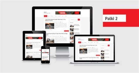 best free bloggong templates palki 2 responsive template