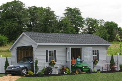 Prefab Garage Packages From Sheds Unlimited In Amish
