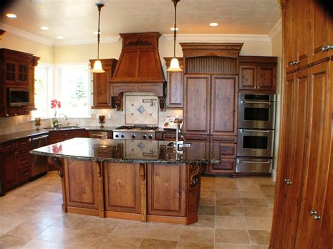 Fireplace Mantels Utah by Custom Kitchen With Island Custom Designed Built And