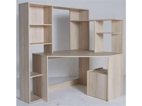 bureau pc conforama bureau d 39 angle groove coloris acacia vente de bureau conforama déco acacia