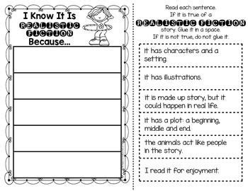 Genre Table Talk Printables For First Grade