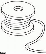 Coloring Wire Cable Pages Spool Reel Chase Tools Utensils Designlooter Tape Measure 276px 1kb sketch template