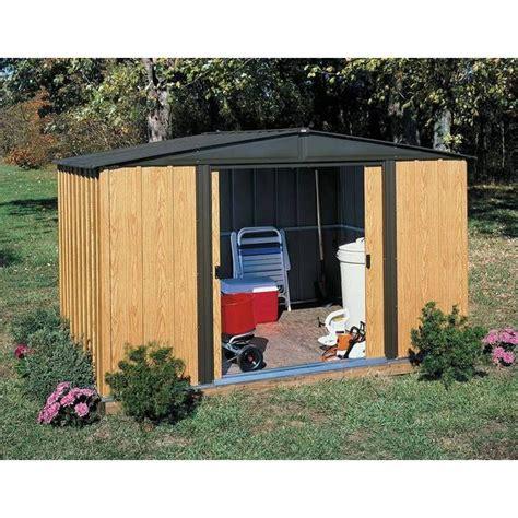 6 x 8 storage shed shop arrow woodlake 8 x 6 foot storage shed free