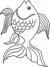 Goldfish Coloring Fish Crackers Bowl Printable Drawing Template Pa Colorings Getcolorings Getdrawings Recommended Rainbow Goldfishes sketch template