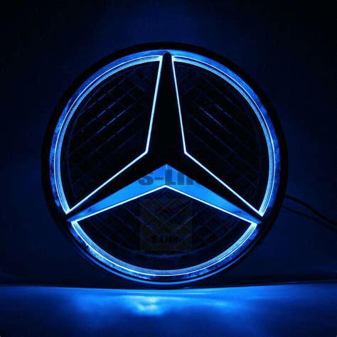 Clair sho's board mercedes benz logo, followed by 129 people on pinterest. Sport 2013-2016 Car Led Grille BlLED Logo Emblem Light For Mercedes Benz   eBay