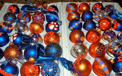 auburn university christmas ornaments house divided