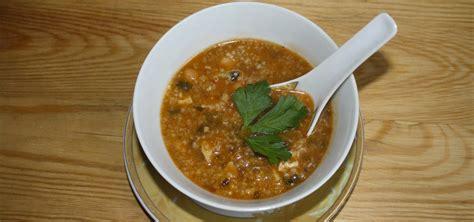 cuisine tunisienne poisson chorba au poisson recette de chorba frik tunisienne