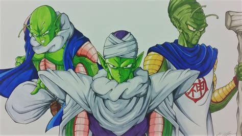 drawing super piccolo fusion  nail