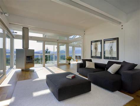 hersteller huf wohnzimmer mit terrasse bild