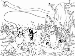 HD Wallpapers Adventure Time Printable Coloring Pages
