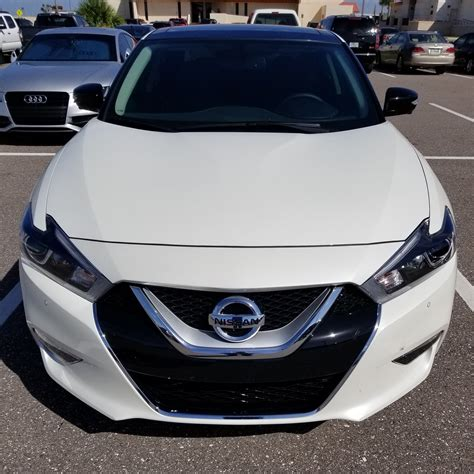 My 2017 Nissan Maxima Platinum with Medallion Package ...