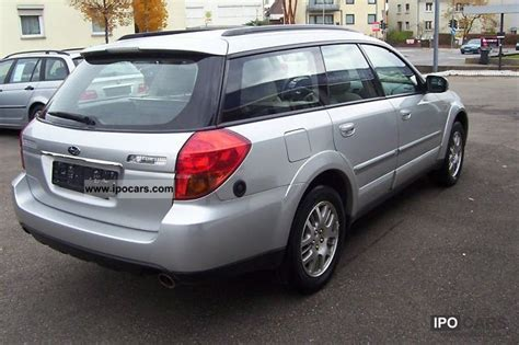 subaru outback  automatic lpg gas system leather
