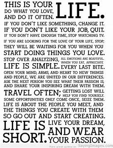 Life Quotes & Sayings SayingImages com