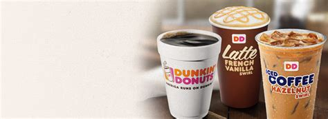 Dunkin' Donuts Brews A Swirl Of Excitement With New Coffee