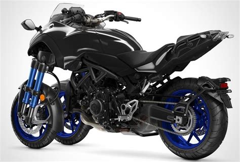 Leaning Three Wheel Motorcycle