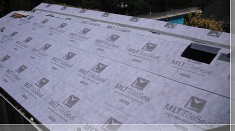 tile roof underlayment for clay tile roof