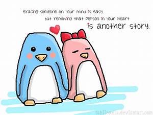Penguin Love by tabiishxela on DeviantArt