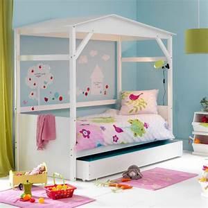 Cabane Chambre Fille : chambre d 39 enfant les plus jolies chambres de petites filles une cabane de petite fille la ~ Teatrodelosmanantiales.com Idées de Décoration