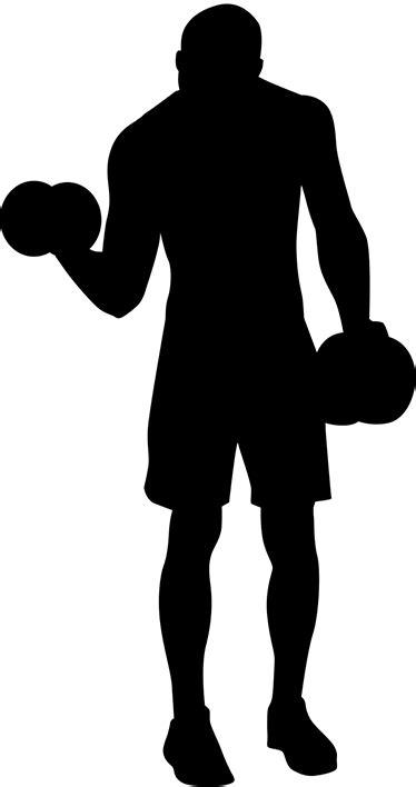 sticker sportif levant des poids - TenStickers