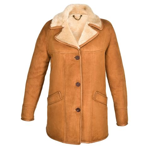 replacement cusions april suede sheepskin coat