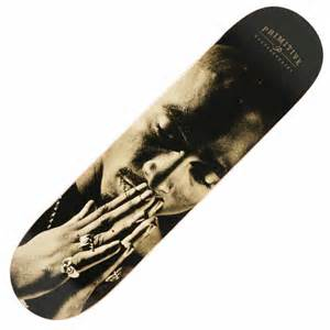 primitive skateboarding primitive x 2pac skateboard deck 8