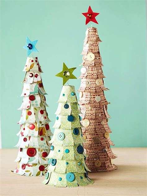 easy christmas tree crafts to make crafts