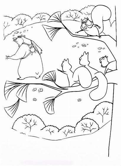 Open Season Coloring Pages Job Nut Meatballs