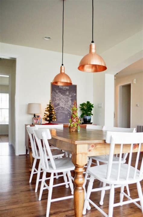 copper pendant lights kitchen featured customer copper pendants visually anchor open 5804