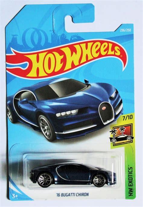 Hot wheels zamac '16 bugatti chiron 89/250, factory fresh series 7/10. Hot Wheels 2019 Básicos '16 Bugatti Chiron - $ 229.00 en Mercado Libre