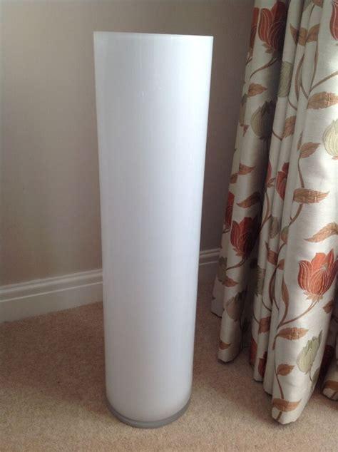floor standing vases large white opaque floor standing glass vase ebay