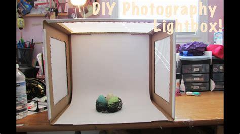 diy photo light box youtube