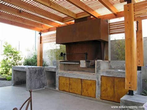 modelos de quinchos  asados arquitectura de casas
