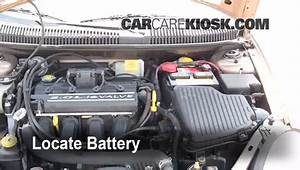 Battery Replacement 2000 2005 Dodge Neon 2001 Dodge