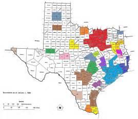 Houston County Texas Map