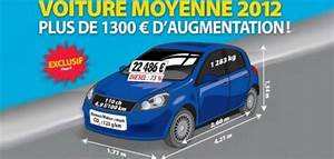Largeur Moyenne Voiture : longueur moyenne voiture voiture moyenne 2011 de france l 39 argus largeur voiture largeur ~ Medecine-chirurgie-esthetiques.com Avis de Voitures