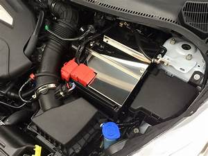 Fiesta MK7 ST stainless battery cover | SiCo-Developments