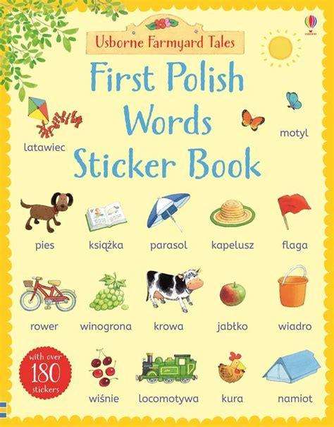 words sticker book words learn